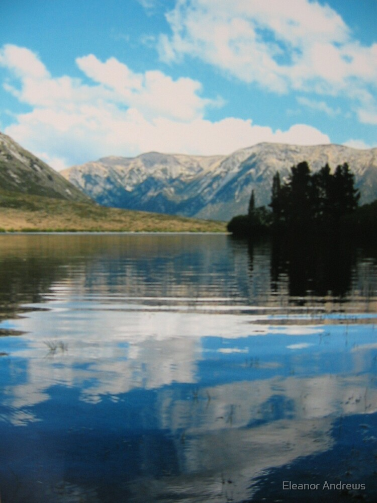 THE LAKE-NEW ZEALAND (MARK 3) by Eleanor Andrews