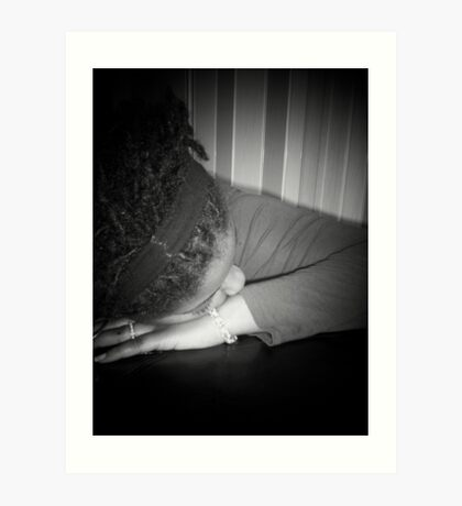 """Lay Me Down"" Art Print"