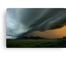 Thunder Rolls Canvas Print