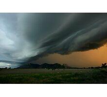 Thunder Rolls Photographic Print