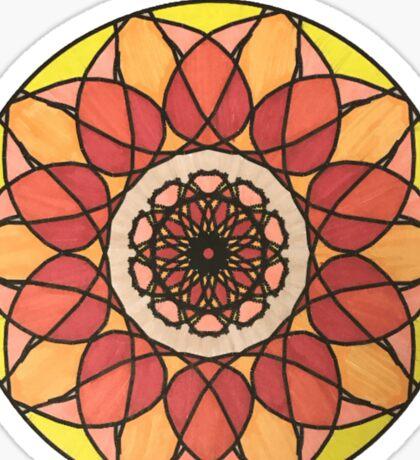 Firebird Mandala Sticker