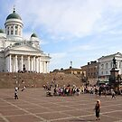 Helsinki Cathedral & Senate Square, Finland by Carole-Anne