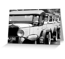 1930s Chevy Greeting Card