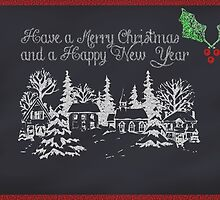 Merry Christmas and a Happy New Year by Zilpa van der Gragt
