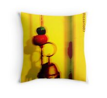 a little drama in broad daylight Throw Pillow