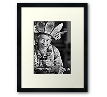Naxi Gentleman Framed Print