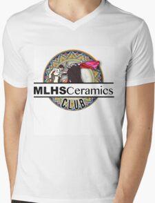 MLHS Ceramics Club Mens V-Neck T-Shirt