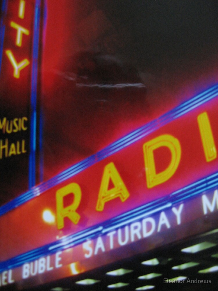 Radio City Music Hall by Eleanor Andrews
