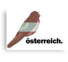National Birds- Austria Canvas Print