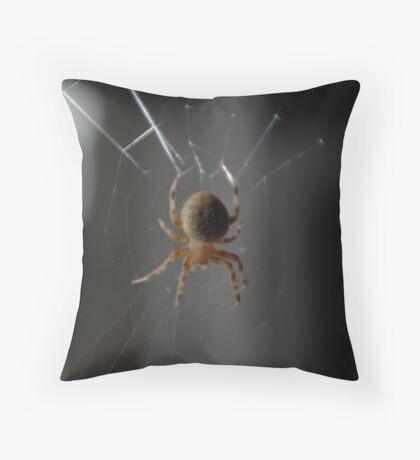 Spider IV Throw Pillow