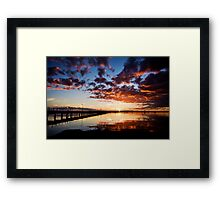 Port Broughton at Dusk Framed Print