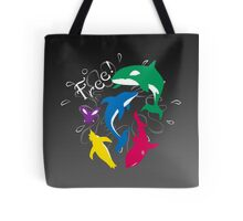 """The Animals of """"Free!"""" Tote Bag"""