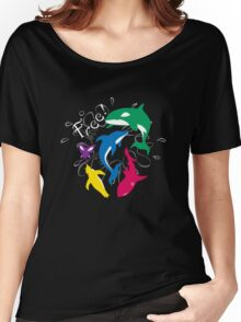 "The Animals of ""Free!"" Women's Relaxed Fit T-Shirt"