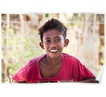 Faces of Timor #3 in colour Poster