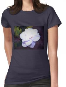Beauty dropped from the sky Womens Fitted T-Shirt