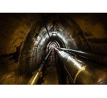 Darwin WW2 Oil Storage Tunnel Photographic Print