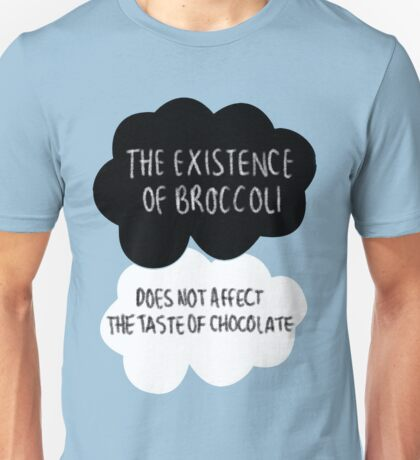 The Existence of Broccoli Unisex T-Shirt