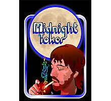 The Midnight Toker Photographic Print