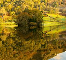 Rydal Water Reflections by Stephen Smith