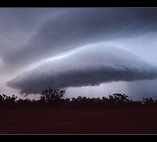 mothership - outback Qld by Tony Middleton
