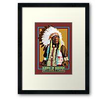 Native pride - 1 Framed Print