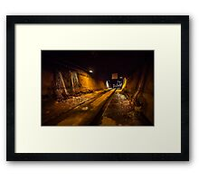 Darwin WW2 Oil Storage Tunnel Framed Print
