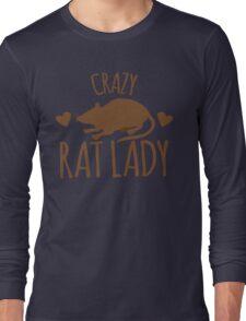 CRAZY RAT LADY Long Sleeve T-Shirt