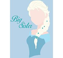 Big Sister Photographic Print