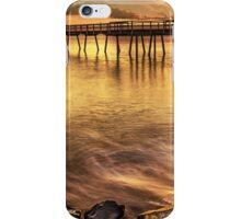 Golden Hour Torquay Pier iPhone Case/Skin