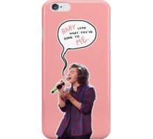 Harry, look what you've done to me - salmon pink iPhone Case/Skin