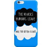 The Marks Humans Leave iPhone Case/Skin