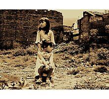 hopefulness demolition... Photographic Print