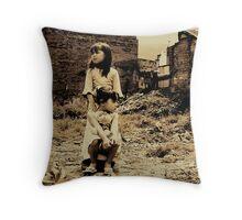 hopefulness demolition... Throw Pillow
