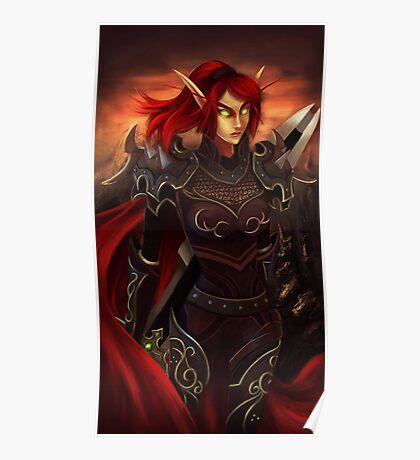 Blood Elf Poster