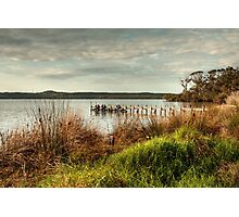 Jetty at the Inlet Photographic Print