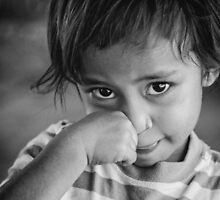 Faces of Timor #12 - bashful by New Hope Australia
