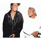 A$AP Rocky and Kendrick Lamar Vintage Style by Emoni Bennett