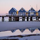 Busselton Jetty at Dusk by mncphotography