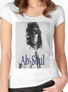 Ab-Soul Women's Fitted Scoop T-Shirt