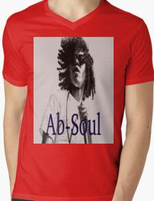 Ab-Soul Mens V-Neck T-Shirt