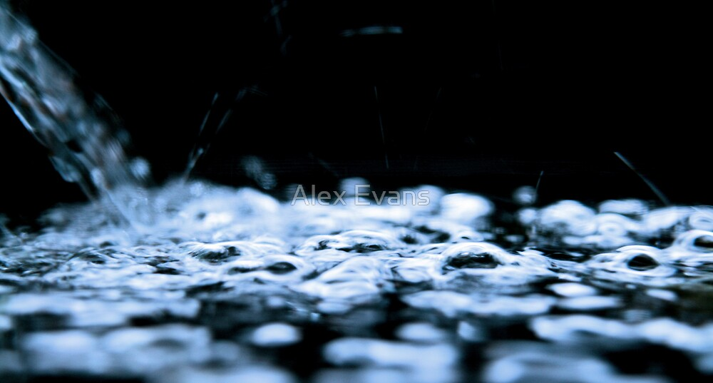 water and light by Alex Evans