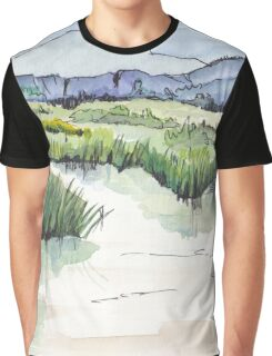 Wetland in Tarlton, Gauteng, South Africa Graphic T-Shirt