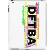 Nerdfigher Things iPad Case/Skin