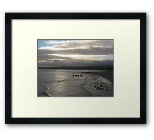 Boat Landing in Mount's Bay Framed Print