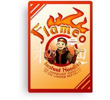 Flameo Instant Noodles! Canvas Print