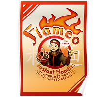 Flameo Instant Noodles! Poster