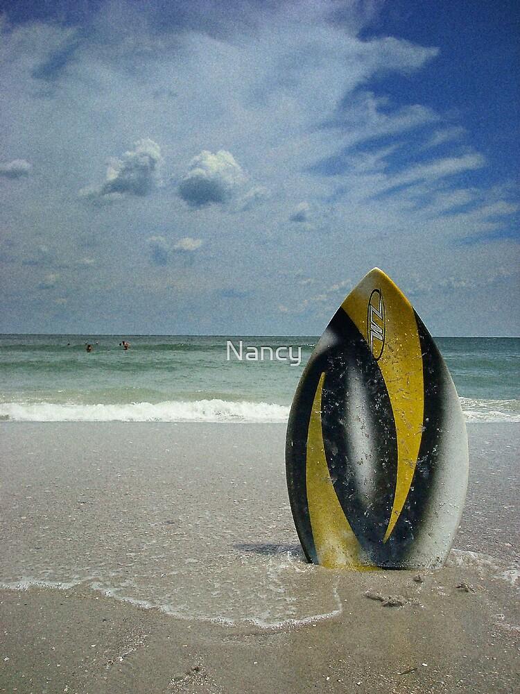 Beach Fun by Nancy