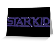 Hand Drawn Starkid Logo Greeting Card