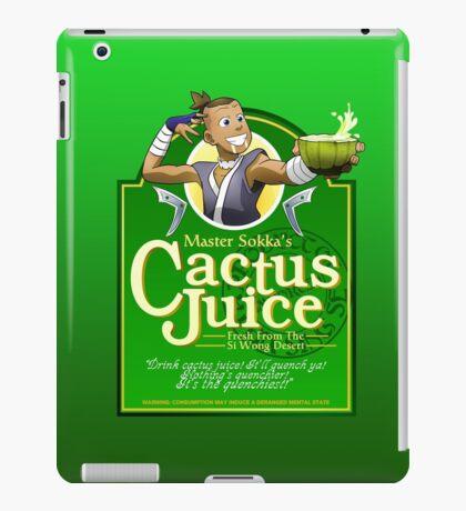 Master Sokka's Cactus Juice iPad Case/Skin