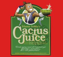 Master Sokka's Cactus Juice Kids Clothes